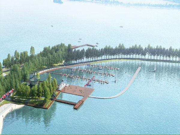 2019年第七届军人运动会帆船比赛水域港池清淤